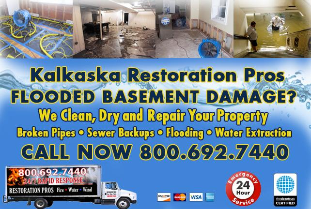 Kalkaska Flooded Basement Cleanup