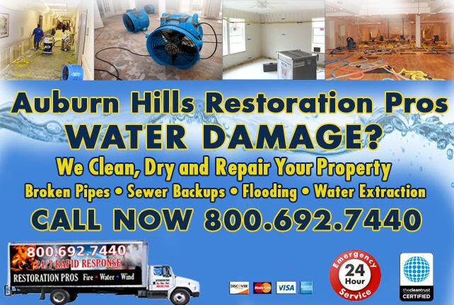 Auburn Hills water repair