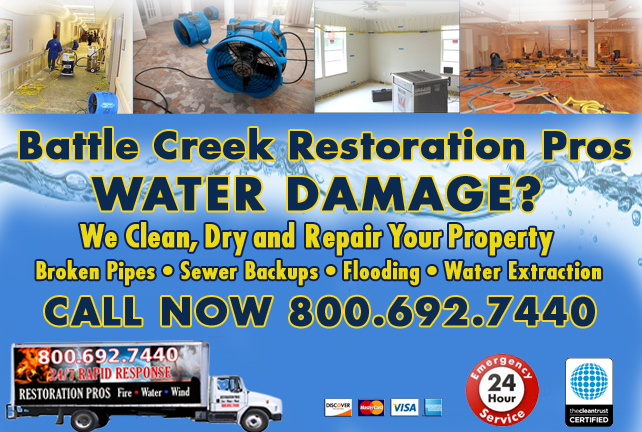 Battle Creek water repair