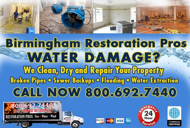 Birmingham water repair