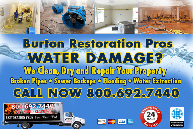 Burton water repair