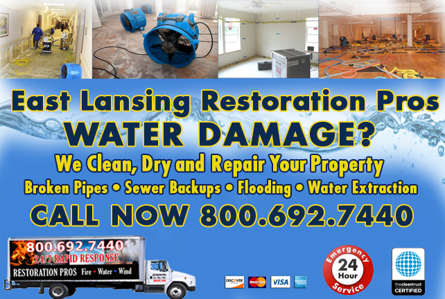 East Lansing water repair