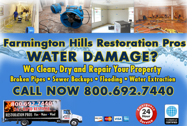 Farmington Hills water repair