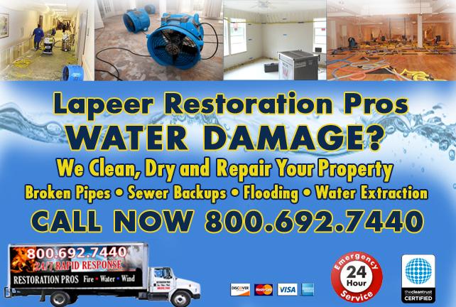 Lapeer water repair