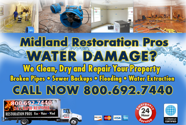 Midland water repair