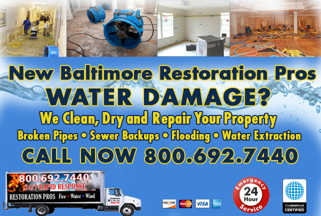 New Baltimore water repair