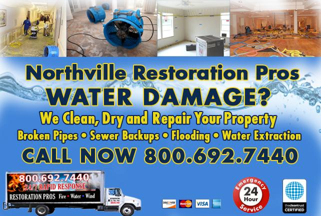 Northville water repair