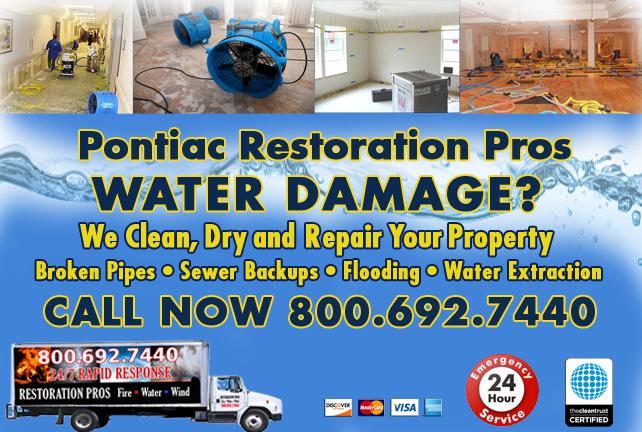 Pontiac water repair