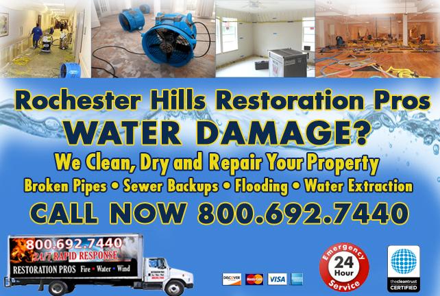 Rochester Hills water repair