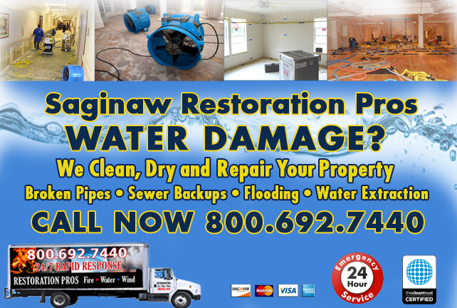 Saginaw water repair