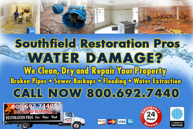 Southfield water repair