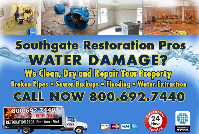 Southgate water repair