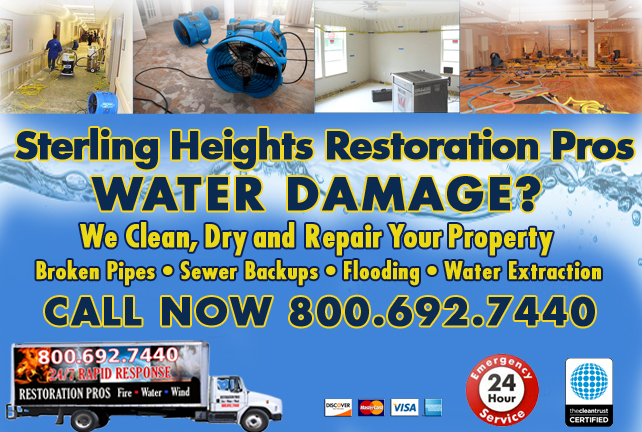 Sterling Heights water repair