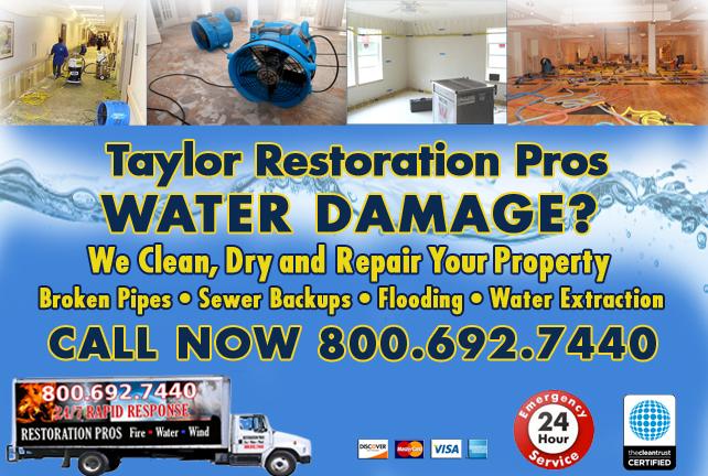 Taylor water repair