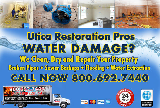 Utica water repair