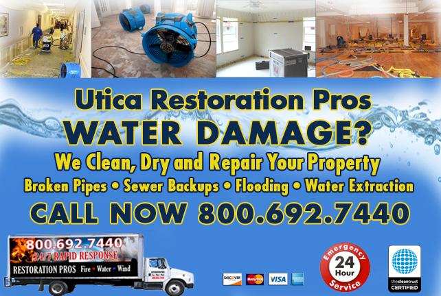 Utica water repair