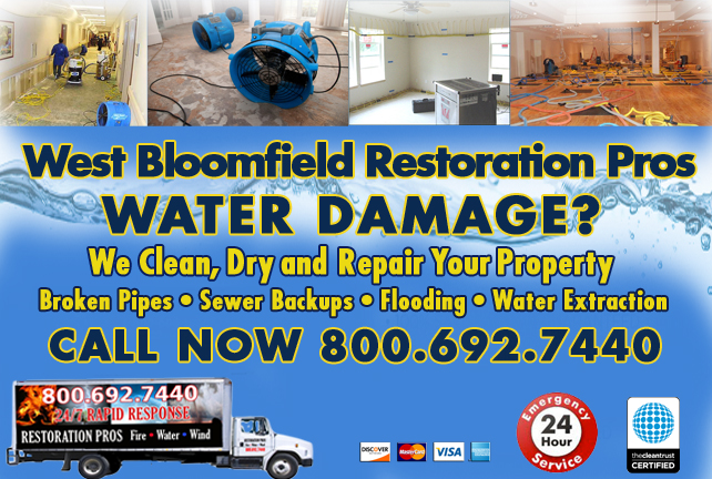 West Bloomfield water repair