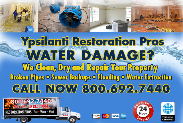 Ypsilanti water repair
